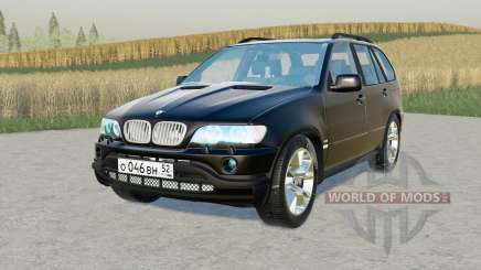 BMW X5 4.4i (E53) 2001 for Farming Simulator 2017