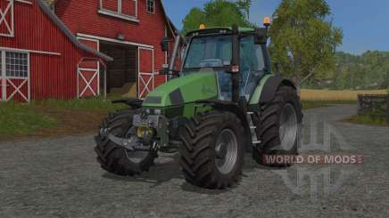Deutz-Fahr Agrotron 120 MKƺ for Farming Simulator 2017