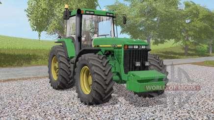 John Deere 8400 & 8Ꝝ10 for Farming Simulator 2017