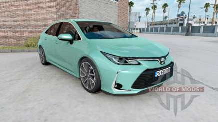 Toyota Corolla hybrid sedan 2020 for American Truck Simulator