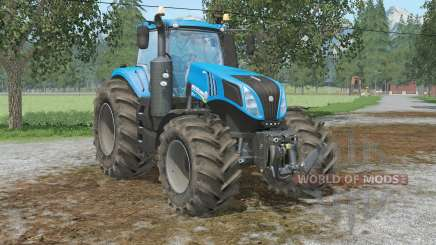 New Hollanᴅ T8.320 for Farming Simulator 2015
