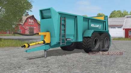 Rolland Rolltwin 205 for Farming Simulator 2017