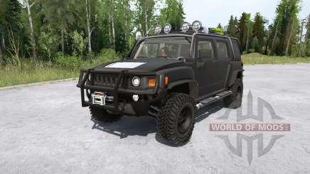 Hummer H3 for MudRunner
