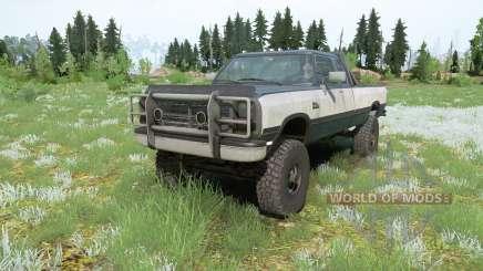 Dodge Power Ram 250 Club Cab 1990 for MudRunner