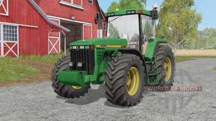 John Deere 8400-series for Farming Simulator 2017