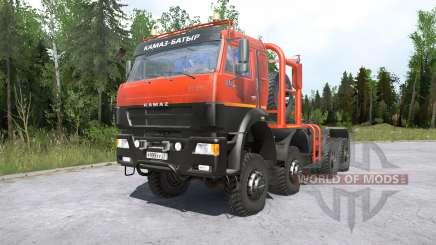 Kamaz-6522৪ for MudRunner