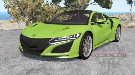 Honda NSX 2016 v1.1 for BeamNG Drive