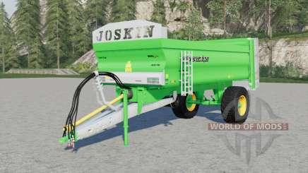 Joskin Ferti-Cap 4008-9U & 5508-12U for Farming Simulator 2017