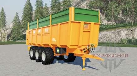 Dangreville dump trailers for Farming Simulator 2017