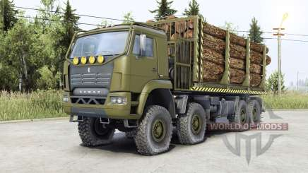 Kamaz-6ƽ60 for Spin Tires