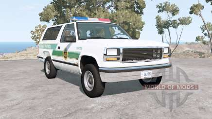 Gavril D-Series U.S. Border Patrol for BeamNG Drive