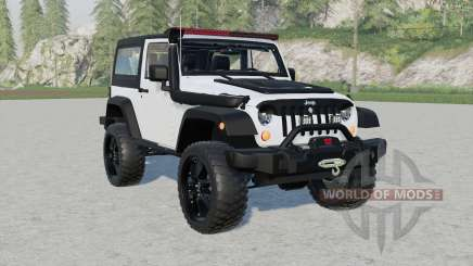 Jeep Wrangler Rubicon (JƘ) for Farming Simulator 2017