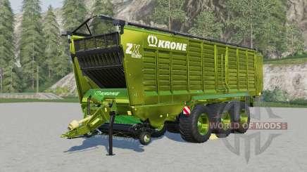 Krone ZX 560 ƓD for Farming Simulator 2017