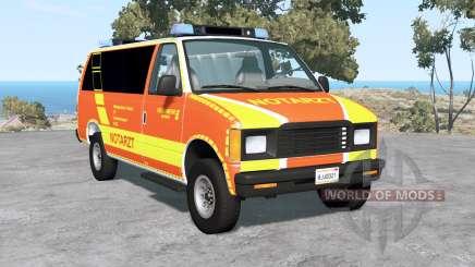 Gavril H-Series German Emergency for BeamNG Drive