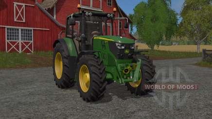 John Deere 6M-serieꜱ for Farming Simulator 2017