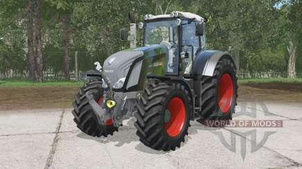 Fendt 828 Vario Black Beautɤ for Farming Simulator 2015