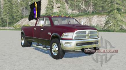 Ram 3500 Heavy Duty Crew Caƀ for Farming Simulator 2017