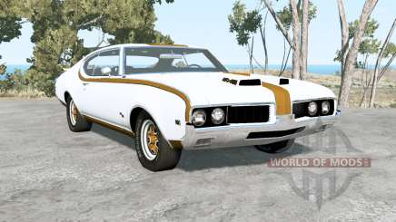 Oldsmobile 442 Hurst holiday coupe (4487) 1969 for BeamNG Drive