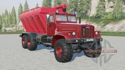 KrAz-255B SSC-15 for Farming Simulator 2017