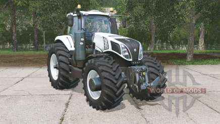 New Holland T8.320 Ultra White for Farming Simulator 2015