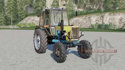 MTO-80 Belarỿs for Farming Simulator 2017