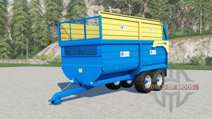 Kane silage trailer for Farming Simulator 2017