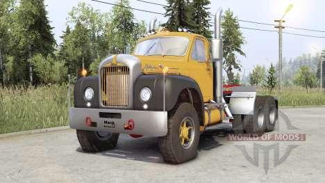 Mack B61 for Spin Tires