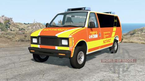 Gavril H-Series German Emergency v1.2 for BeamNG Drive