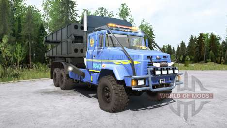KRAz-63221 for Spintires MudRunner