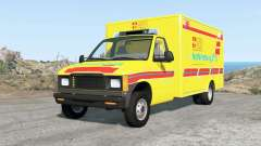 Gavril H-Series German Emergency v1.3 for BeamNG Drive