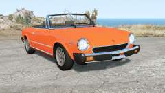 Fiat 124 Sport Spider (CS) 1975 for BeamNG Drive