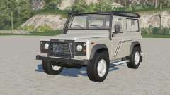Land Rover Defender 90 Station Wagon 1997 for Farming Simulator 2017