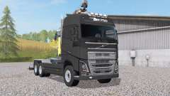 Volvo FH16 750 Globetrotter XL hooklift for Farming Simulator 2017