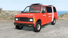 Gavril H-Series German Emergency v1.1 for BeamNG Drive