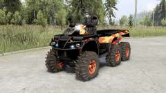 Can-Am Outlandeᵲ 6x6 for Spin Tires