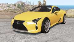 Lexus LC 500 2017 v1.1 for BeamNG Drive
