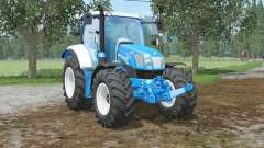 New Holland T6.160 colored in ford colors for Farming Simulator 2015