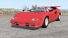 Lamborghini Countach LP5000 S QV 1985 for BeamNG Drive