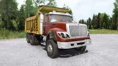 International WorkStar 6x4 Dump Truck 2008 for MudRunner