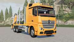 Mercedes-Benz Actros forestry truck for Farming Simulator 2017