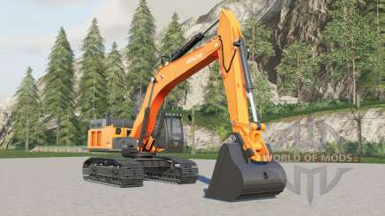 Hitachi ZX470LC-5B for Farming Simulator 2017