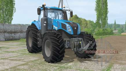 New Hollaɲd T8.320 for Farming Simulator 2015