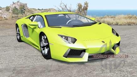 Lamborghini Aventador LP 700-4 (LB834) 2011 for BeamNG Drive