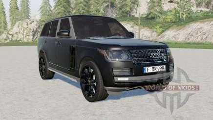 Range Rover Vogue (L405) 2013 Black for Farming Simulator 2017