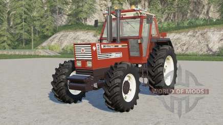 Fiat 180-90 Turbo DȾ for Farming Simulator 2017