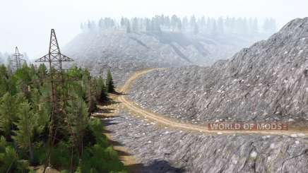 Ural 11: Mountains v2.0 for MudRunner