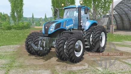 New Hollaᶇd T8.320 for Farming Simulator 2015