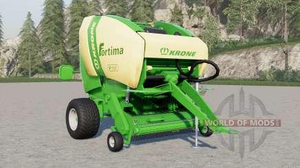 Krone Fortima V 1500 v1.1 for Farming Simulator 2017