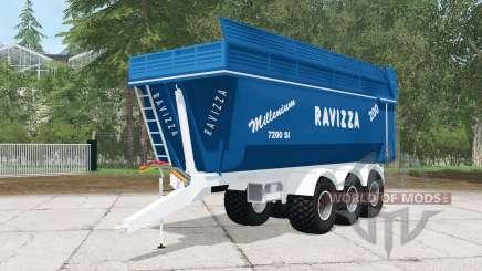 Ravizza Millenium 7200 SI for Farming Simulator 2015