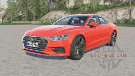 Audi A7 Sportback quattro 2018 for Farming Simulator 2017